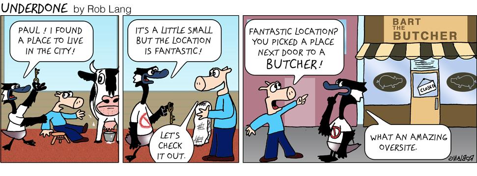 Underdone-butcher