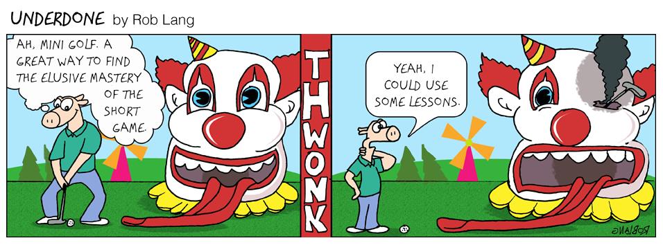 Underdone Mini Golf