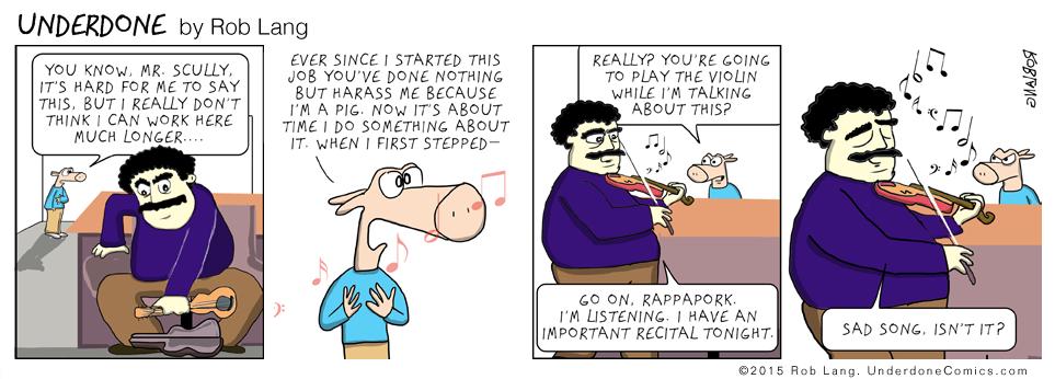 UNDERDONE-violin