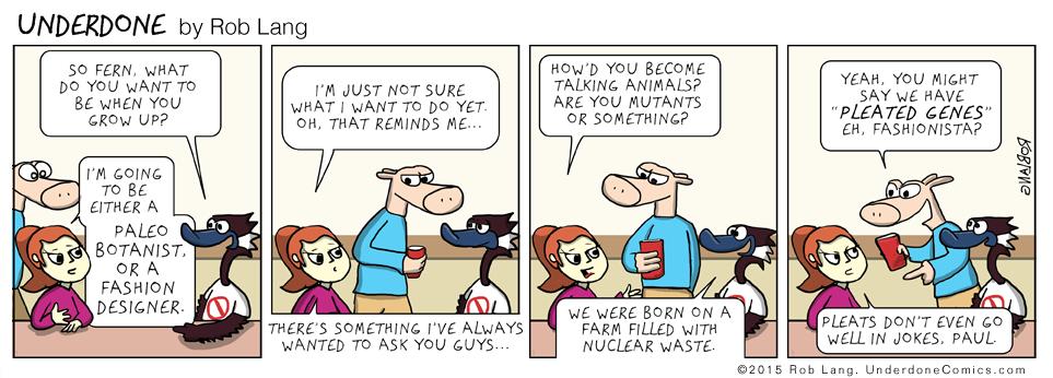 UNDERDONE-pleated-genes