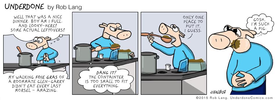 UNDERDONE-leftovers